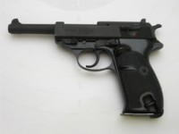WALTHER P1, r. 9mm Luger