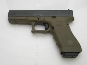 Glock 17 oliv