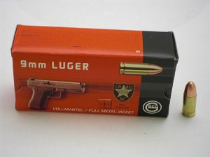 GECO 9 Luger FMJ 8g/124grs