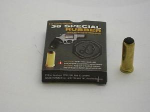 LIBRA 38 SPECIAL RUBBER neletální střelivo