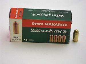 ARMYARMS.cz nabízí: SB 9 Makarov FMJ 6,1g/95grs