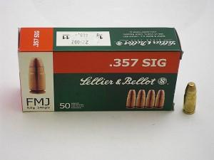 ARMYARMS.cz nabízí: SB .357 SIG FMJ 9g/140grs
