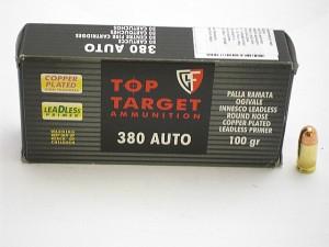 ARMYARMS.cz nabízí: FIOCCHI 380 AUTO (9 Brow.) RNCP 100 gr LP