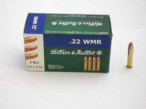 ARMYARMS.cz nabízí: SB 22 WMR FMJ 2,60g/40grs