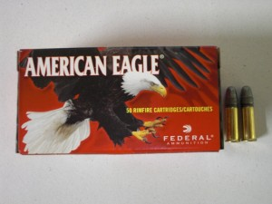 ARMYARMS.cz nabízí: AMERICAN EAGLE 22 LR 40grs HV
