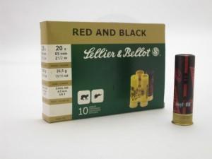 ARMYARMS.cz nabízí: SB 20/65/26,5g RED AND BLACK