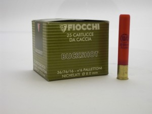 ARMYARMS.cz nabízí: FIOCCHI 36/76/16 BUCKSHOT