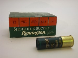 REMINGTON 12/70/33,5g SHOTSHELLS BUCKSHOT