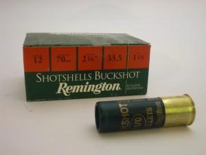 REMINGTON 12/70/33,5g SHOTSHELLS BUCKSHOT