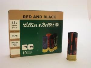 ARMYARMS.cz nabízí: SB 12/65/33,5g RED AND BLACK