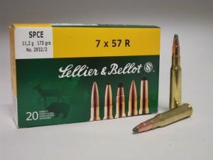 SB 7x57 R SPCE 11,2g/173grs