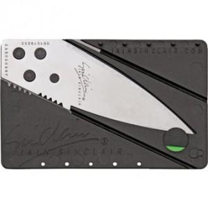 ARMYARMS.cz nabízí: Nůž ve tvaru kreditní karty Cardsharp