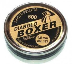 DIABOLO BOXER 4,5 mm - 500 ks