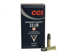ARMYARMS.cz nabízí: CCI STANDARD VELOCITY 22 LR