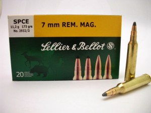 ARMYARMS.cz nabízí: SB 7 mm REM.MAG. SPCE 11,2g/173grs