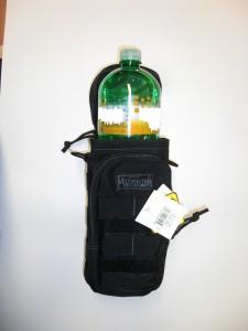 "Maxpedition Bottle Holder 10"" x 4"" Black"