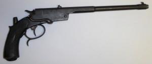 Pistole jednoranová