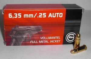 ARMYARMS.cz nabízí: Náboje 6,35 Browning/25 AUTO