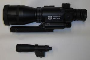 ARMYARMS.cz nabízí: Noční vidění Armasight Hunter WWZ 4x - zaměřovač