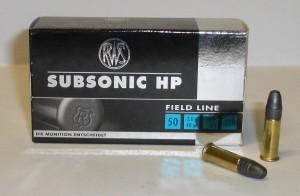 RWS 22 LR SUBSONOC 2,6g