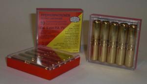 ARMYARMS.cz nabízí: Plynové náboje Wadie W8 cal.9 mm PA,PV Pepper