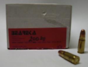 ARMYARMS.cz nabízí: Náboje 7,62x25 Beareka - mosaz