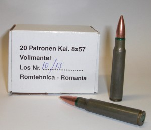 ARMYARMS.cz nabízí: Náboje 8x57 JS - 20 ks
