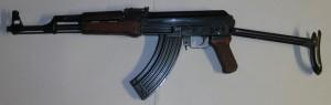 AK47S maketa školní řez
