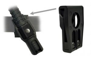 Teleskopický obušek 18″ + BH 34 - černý