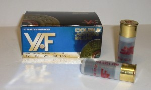 YAF 12/70mm Double Slug střelivo YAS