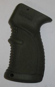ARMYARMS.cz nabízí: Pistolová pogumovaná rukojeť pro AK47 74 zelená