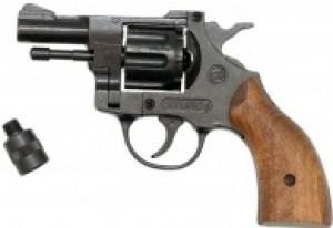 ARMYARMS.cz nabízí: Plynový revolver Bruni Olympic 6 dřevo
