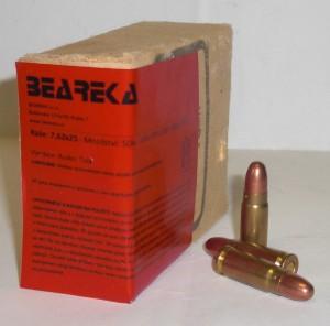 TOKAREV 7,62x25 85gr - 50 ks