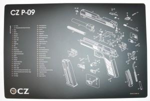 ARMYARMS.cz nabízí: PODLOŽKA ZBROJÍŘE P-09  CZ
