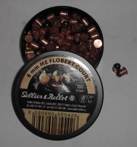Náboj SB 6 mm FLOBERT - kulaté