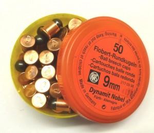 Náboj RWS 9mm FLOBERT kulatý