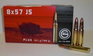 ARMYARMS.cz nabízí: Náboj GECO 8x57 JS PLUS 12,7g
