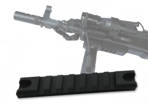 MIL-STD-1913 délka 98 mm RAIL Picatinny weawer