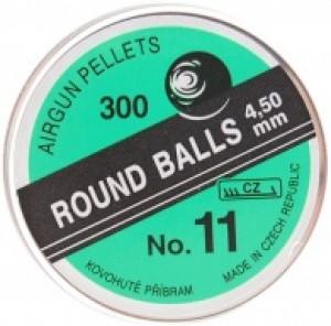 ARMYARMS.cz nabízí: Broky Round balls 4,5 mm