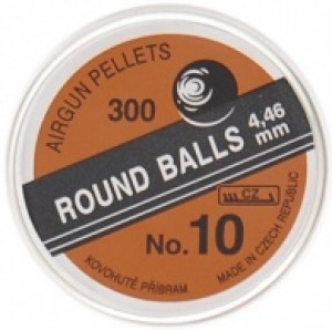 Broky Round balls 4.46 mm