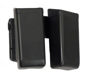 Dvojité rotační plastové pouzdro pro dva zásobníky 9mm Luger