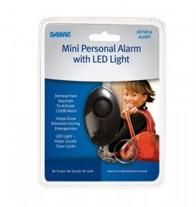 ARMYARMS.cz nabízí: Osobní alarm SABRE Mini s LED svítilnou