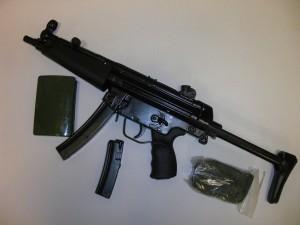 SMG MP5P3