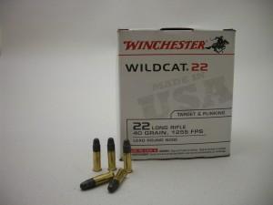 ARMYARMS.cz nabízí: WINCHESTER WILDCAT 22 LR HV 40grs/1255 FPS