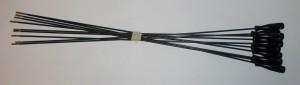 Vytěráková tyč broková - nerozkládací s redukcí