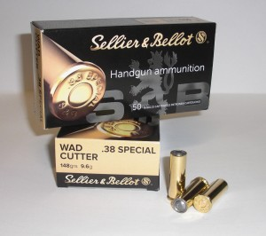 SB 38 Special WC-Pb 9,6g/148 grs
