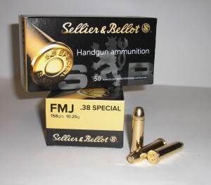ARMYARMS.cz nabízí: SB 38 Special FMJ 10,25g/158 grs