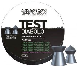 ARMYARMS.cz nabízí: Match Diabolo Test Light Weight - pistole