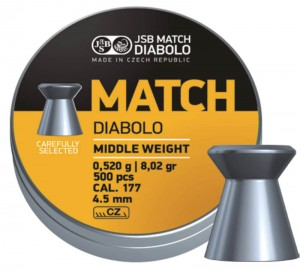 Yellow Match Diabolo Middle Weight