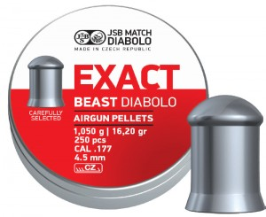 ARMYARMS.cz nabízí: Diabolo Exact Beast - 250 ks